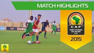 Nigeria vs Egypt | U-23 Africa Cup Of Nations, SENEGAL 2015