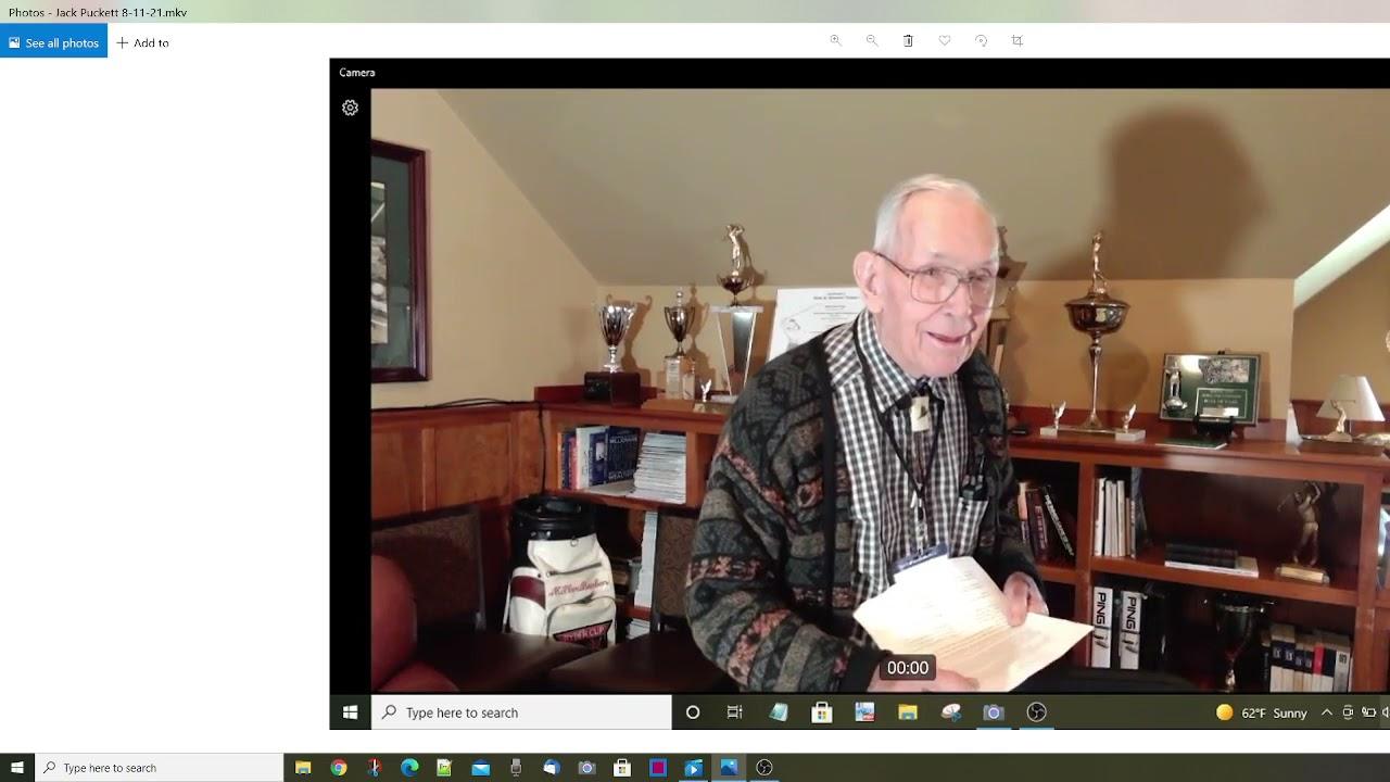 Jack Puckett - Stories of USFS Experiences  8-11-21