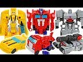 Transformers Cyberverse 1-Step Changer Optimus Prime & Bumblebee! #DuDuPopTOY