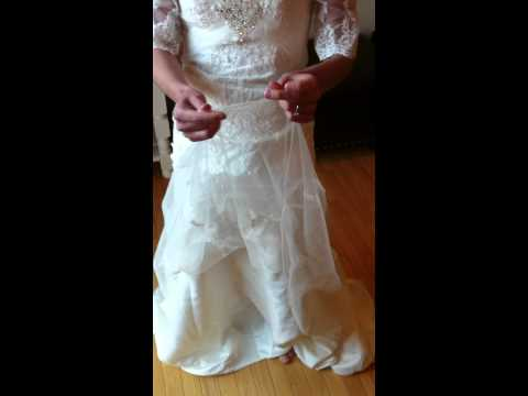 Vote no on the last stains on your wedding gowns for Wedding dress stain removal
