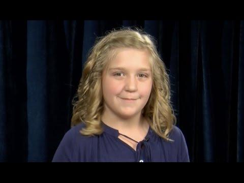 4-H Speech / Public Speaking Presentation - Emma