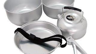 Обзор Туристический Набор Посуды Gelert