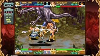 Dungeons & Dragons: Chronicles of Mystara 4 Player Co-op-Aganza (Cleric, Fighter, Dwarf, Elf)