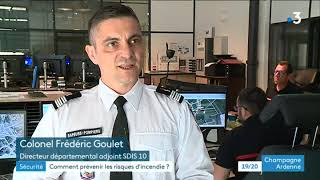 A Troyes, la vigilance accrue des pompiers en cas d'incendie dans le centre-ville