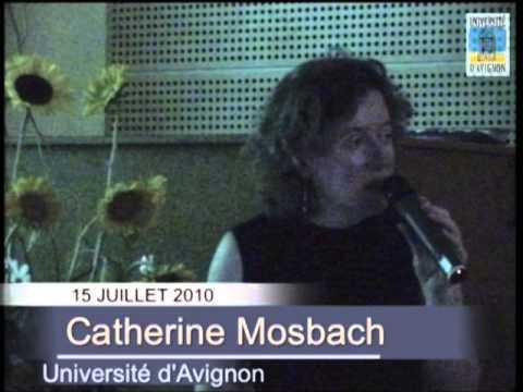 Leçon de Catherine Mosbach - Midi-Minuit 2010