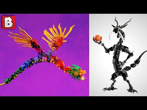 Which LEGO Dragon is Better? | TOP 10 MOCs