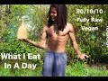 What I Eat In A Day | 80/10/10 Raw Vegan Diet
