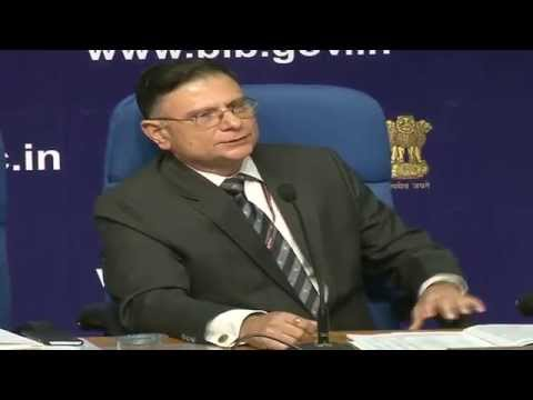 Press Conference By Finance Secretary on October 5, 2015