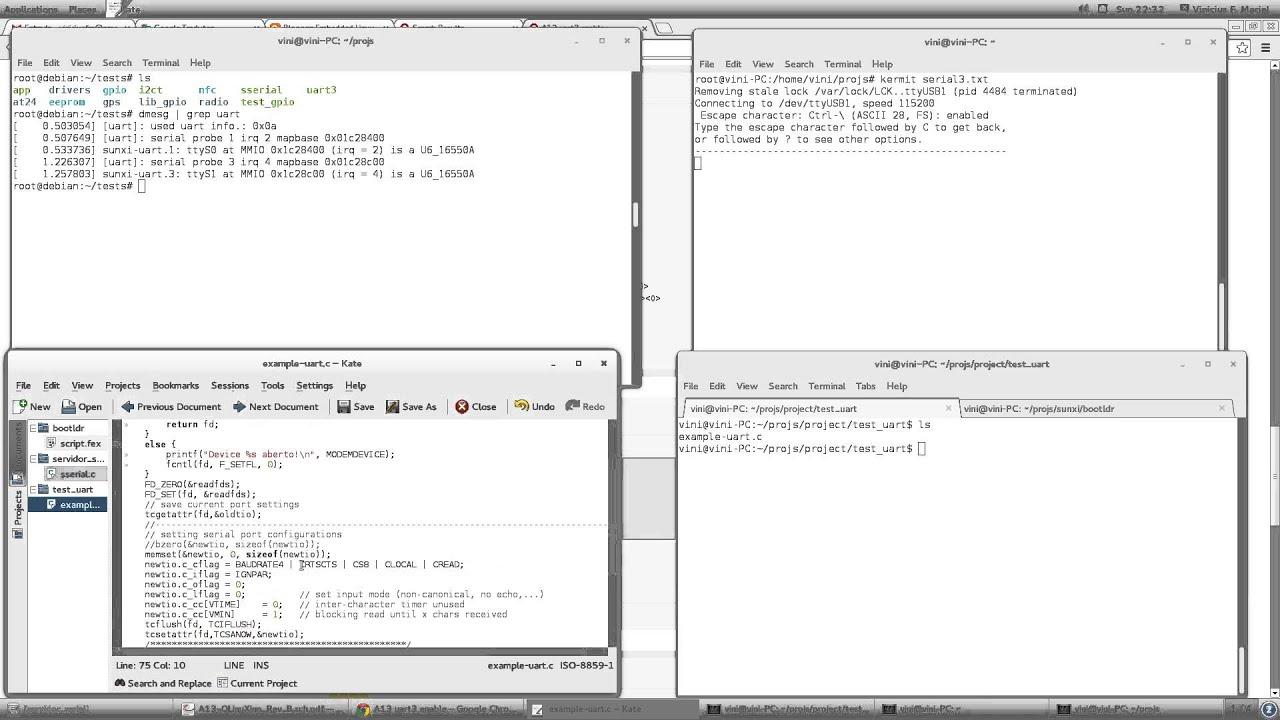 Linux C Uart