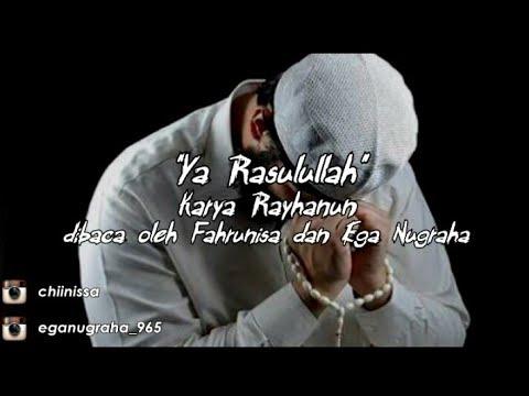 Puisi Islami Ya Rasulullah Youtube