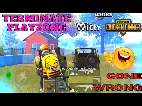 Noob Player Terminate with Playzone in PUBG Mobile | Gone Wrong | Funny Moments | Funny Gamer Team