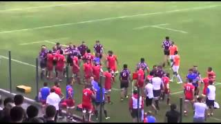 best RUGBY FIGHT 2015 .Georgia vs Wales