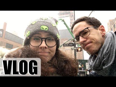 VLOG à NEW YORK : bullet journal et encore une tempête de neige sur Manhattan ! / Harmony Lu