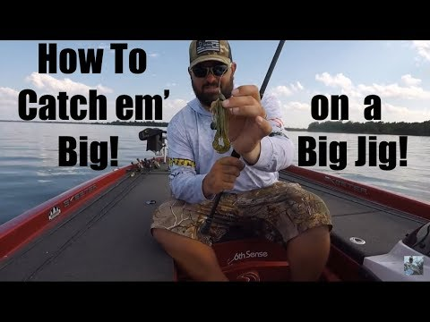 Lake Fork Offshore Bass Fishing: Big Jig Tips And Techniques