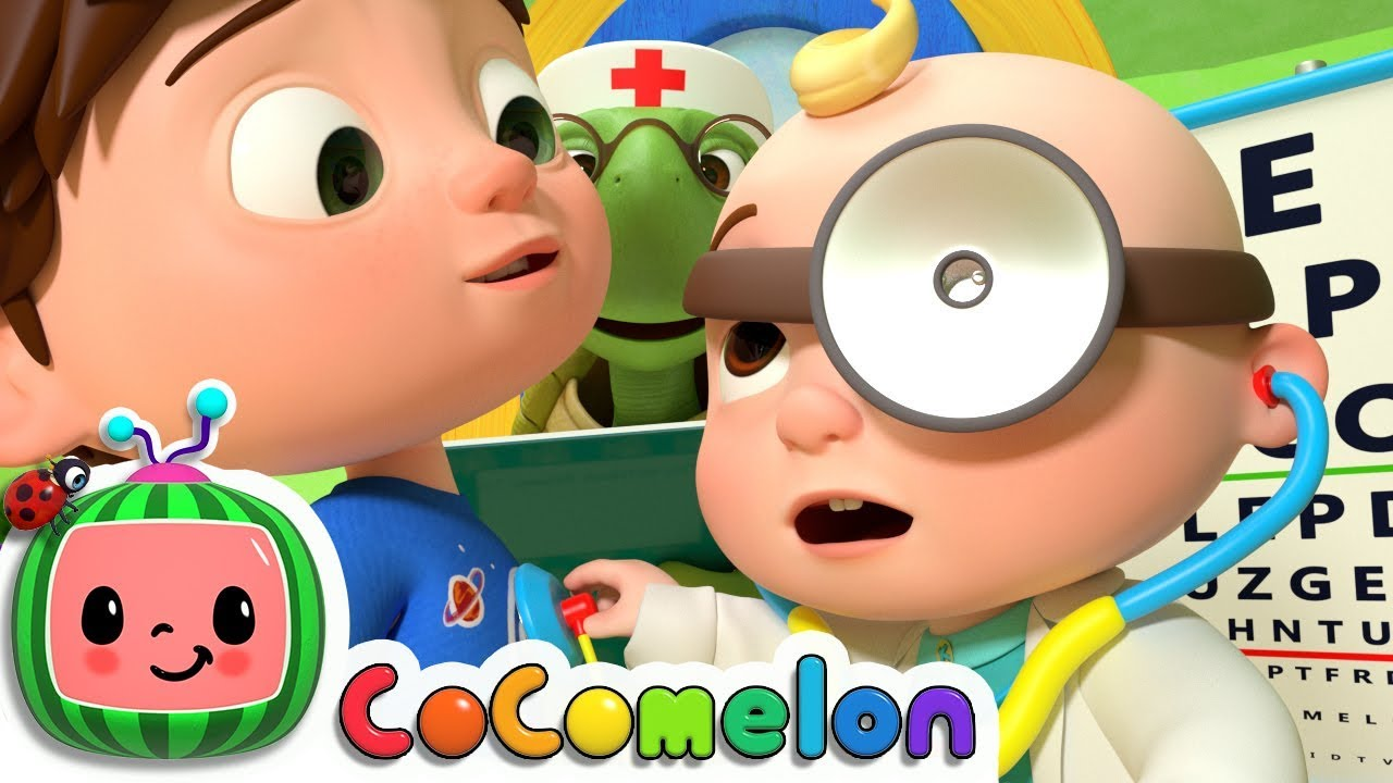 Doctor Checkup Song Cocomelon Nursery Rhymes Kids Songs Youtube Giftinthebox safari animal figurines toys with activity play mat , realistic plastic jungle wild zoo animals figures playset with elephant, giraffe. doctor checkup song cocomelon nursery rhymes kids songs