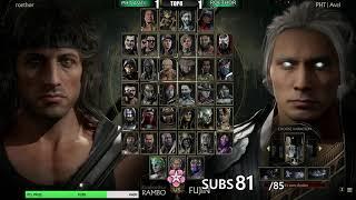 Mortal Kombat 11 LCQ2021   Full Tournament! TOP8 + Finals