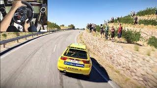 Seat Ibiza Kitcar | Dirt 4 | Logitech g29 gameplay