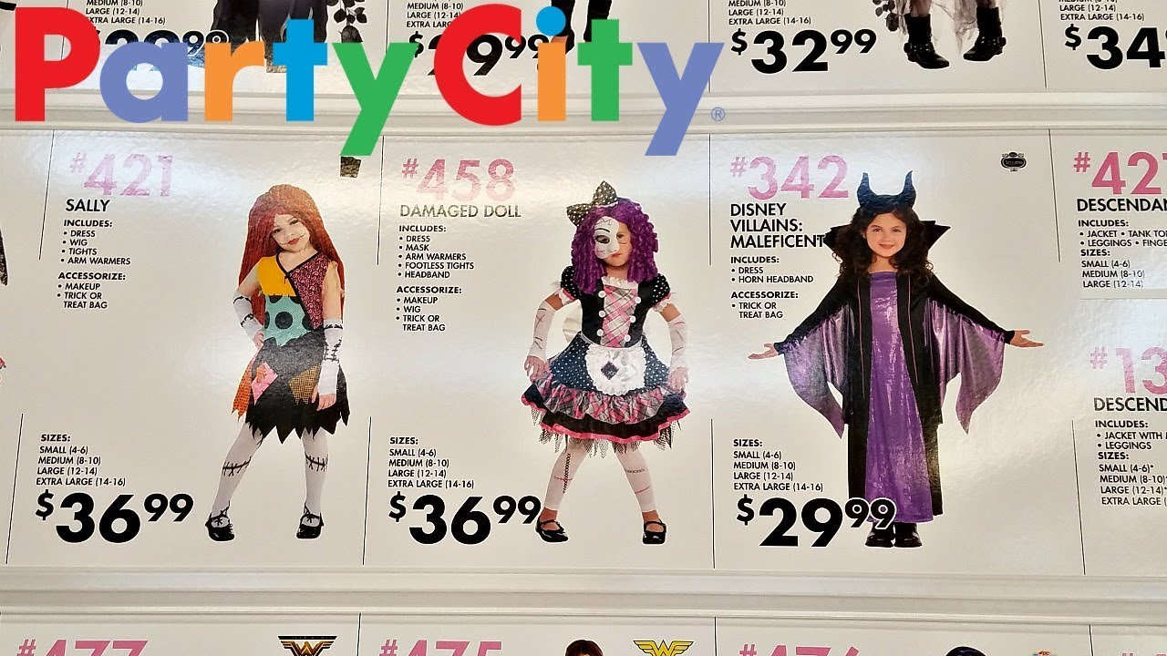PARTY CITY Halloween Costumes 2017 - Look With Me - YouTube