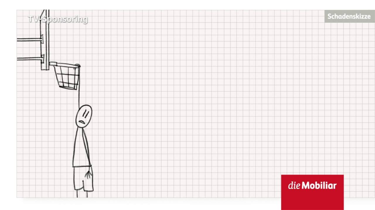 Animierte Schadenskizze Der Mobiliar Indoor Sports