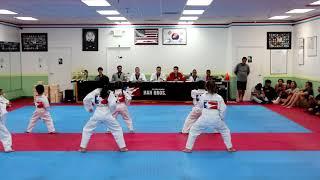 Manvik Belt Testing - White Belt to Yellow Belt