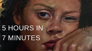 "PAINTING TIMELAPSE || Expressive Portrait in Oil - ""Tact"""