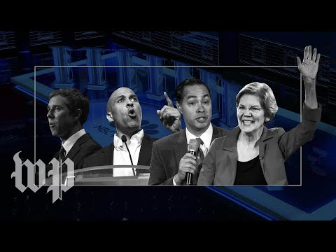 Immigration, abortion and surprise Spanish: Candidates go head-to-head in first Democratic debate