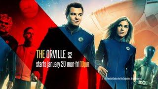 The Orville S2   Starts 20th January   Mon-Fri   10 PM