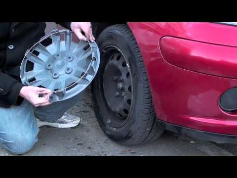 how to put on wheel trims
