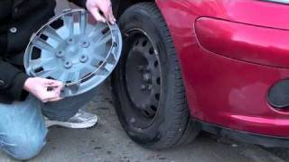 How to fit wheel trims