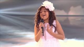 sharon edith la voz de angel pequeos gigantes usa como yo te amo