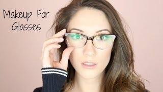 Makeup For Glasses!!! + Win a Free Pair :) | Blair Fowler Thumbnail