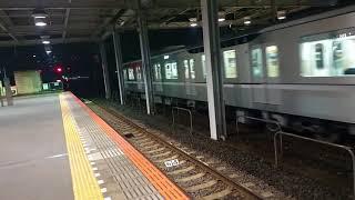 【あの音が全然聞こえない】東京メトロ13115F北越谷到着&発車シーン