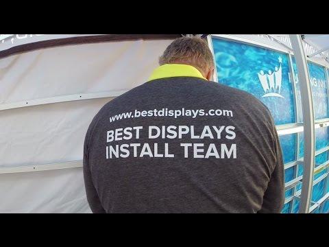 Custom Outdoor Display Installation - Best Displays & Graphics