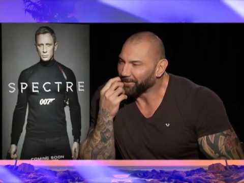 """Fil-Am actor Dave Bautista and fighting off James Bond in """"Spectre"""""""