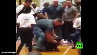 شوارزينغر ينشر فيديو جديدا للهجوم الذي تعرض له (فيديو)