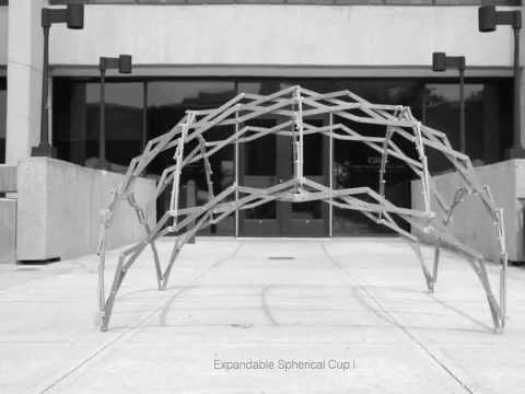 Transformable Design-Deployable Domes - the transLAB - Negar Kalantar - Alireza Borhani