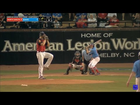 ALWS Championship Game 2019 | North Dakota Vs Idaho | American Legion World Series Highlights