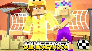 BABY DUCK & BABY LEAH GO ON THEIR HONEYMOON - Minecraft Into The Future #04 - Baby Duck Adventures