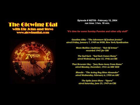 The Glowing Dial - episode NET09 - 2/15/04