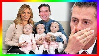 Angélica Rivera dio a luz a tres hijos, Eduardo Yáñez está extremadamente feliz por esta sorpresa.