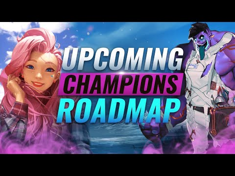 NEW CHAMPIONS ROADMAP REVEALED: Seraphine + Dr. Mundo Rework + MORE - League Of Legends