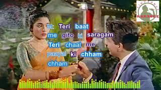 Tere Husn Ki Kyataarif Karun Hindi karaoke for female singers with lyrics