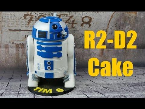 Star Wars R2 D2 Torte 3d Torte Cake Tutorial Youtube