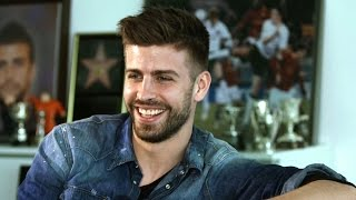 Gerard Pique Full Length Interview - Messi vs Ronaldo, Sir Alex Ferguson vs Guardiola, EPL v La Liga