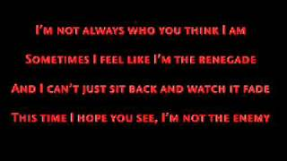 Repeat youtube video Manafest - Renegade (W/ Lyrics)