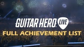 Guitar Hero Live Achievements & Trophy List Revealed!