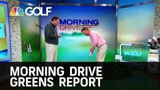 Morning Drive - TPC San Antonio Greens Report | Golf Channel