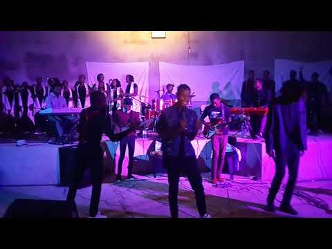 2018 NDLE YA XIHAMBANO _ African-duo com #BM_ no concerto do Grupo coral evangelho