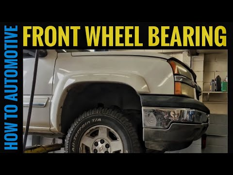 How to Replace the Front Wheel Bearings on a 2000-06 Chevy K1500 Silverado Suburban GMC Sierra Yukon
