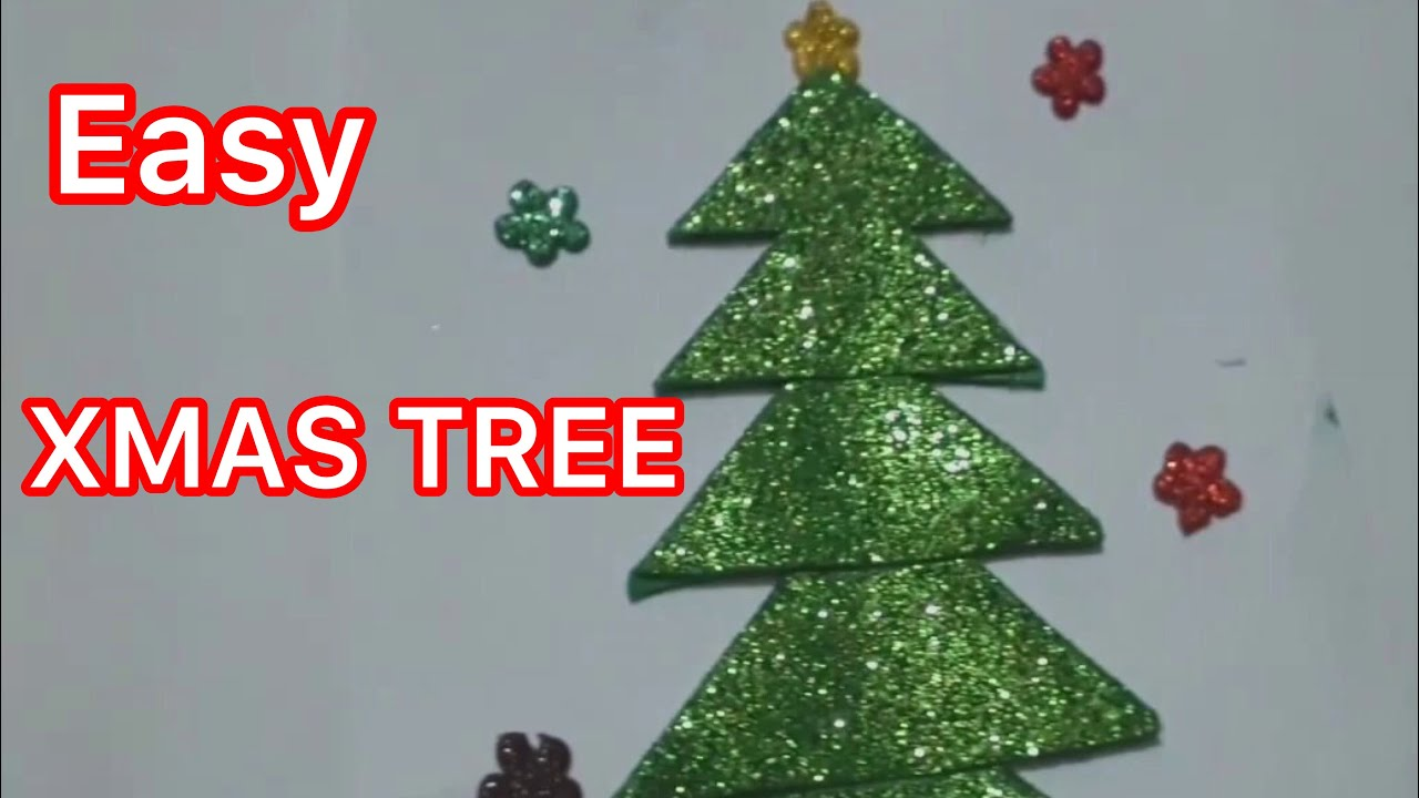 3 MINUTES XMAS TREE HACKS   christmas tree kaise banate hain   christmas Tree Making - YouTube